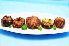 Ciuperci umplute, la cuptor-aperitive apreciate,reteta simpla, care nu necesita mare indemanare. Ciuperci moi si suculente, cu cascaval si condimente.