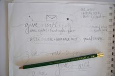 talking about rebranding + designing logos // give with joy // the blog