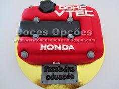 Doces Opções: Bolo Honda VTEC