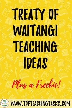 Read on to find some great Treaty of Waitangi teaching ideas for how to make the Treaty of Waitangi and Waitangi Day engaging. Teaching Materials, Teaching Ideas, Treaty Of Waitangi, Waitangi Day, Study History, Primary Classroom, Close Reading, Thought Provoking, Social Studies