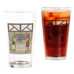 Apothecary Shop Drinking Glass on CafePress.com