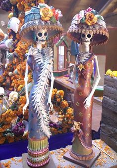 day of the dead catrinas