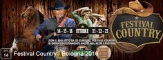 2016 - Country Festival, Oct. 14-15, Oct. 21-22, 6 p.m.-2 a.m.; Oct. 16 and Oct. 23, noon-midnight, in Bologna, Via della Fiera 20; live concerts, country dances; shows, and typical country food; with the €10 admission fee you can visit also the Irish Festival and the October Festival in program at the same location in the same days.