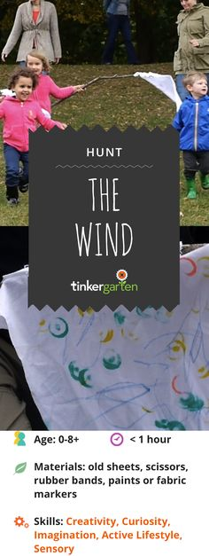 Turn old bed sheets and pillow cases into wind flags, and your kids make fast friends with wind and gain a magical toy that lead to hours, even days of play. Grab a flag yourself and get in on the pure joy in running wild with the wind. Click through to learn how!