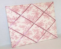 Pink Central Park Toile fabric  Nursery by ToileChicBoutique, $25.00