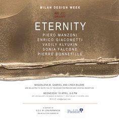 Milan Design Week 2018 | Prosegue fino al 22 aprile l'importante mostra di Art Jed Gallery di St. Moritz dedicata al concetto di eternità | Vi aspettiamo in Via Marco de Marchi, 7 | Un evento: Brera Design District - Fuorisalone.it