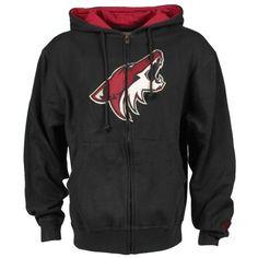 6254ed1af Mens Arizona Coyotes Old Time Hockey Black Conway Full Zip Hoodie. Nhl ShopHockey  ...