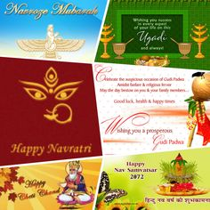 Today is a day of coincidence of quite a few festivals that enrich India's unity in diversity: Navratras Gudi Padwa Ugadi Navroze Cheti Chand,Sindhi New financial year Happy New Year-Vikram Samvat 2072