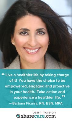 Get more from this top medical expert here http://www.sharecare.com/user/barbara-ficarra