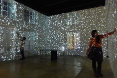 The Walls Have Feelings in Majestic Interactive Room | The Creators Project