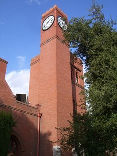 First Congregational Church Clock Tower