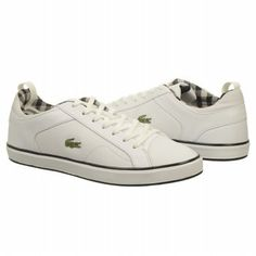 add a little designer brand luxury into your man's life with some lacoste tennis shoes