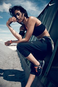 Beau Grealy Shoots Women's Training Spring #Campaign for #Nike.