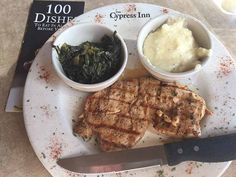 Smoked Chicken with white barbecue sauce at Cypress Inn in Tuscaloosa was my 89th Dish on my quest to try 100 Dishes To Eat In Alabama Before You Die