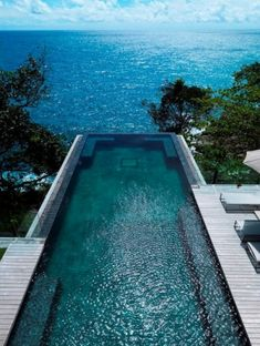Un bassin qui attire vers l'océan.
