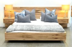 New Marri Platform Bed. Winter is coming! Our new bed designs are just the answer to updating your private sanctuary.