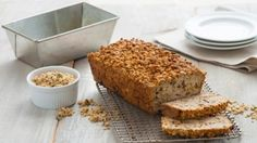 Zucchini and Date Loaf with Pumpkin Flax Granola Streusel, pumpkin flax granola, recipes, zucchini loaf recipe, zucchini loaf recipes, zucini loaf, date loaf,