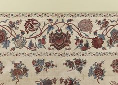 Chintz palampore (or bed-cover), (detail) 1700-50