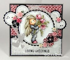DeeDee´s Card Art: ♥ Loving Greetings ♥, magnolia