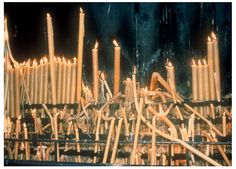 Nan Goldin, Fatima Candles, Portugal, 1986.