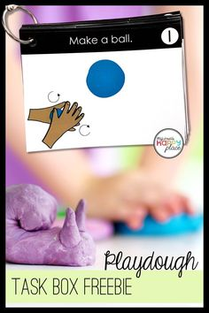 Free Playdough Task Cards Fine Motor Skills Box Activity - This resource is great for kindergarten or pre Free Playdough Task Cards Fine Motor Skills Box Activity - This resource is great for kindergarten or preschool! Fine Motor Activities For Kids, Motor Skills Activities, Morning Activities, Kindergarten Activities, Fine Motor Activity, Preschool Education, Activity Box, Teaching Resources, Preschool Fine Motor Skills
