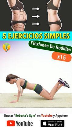 Full Body Gym Workout, Fitness Workout For Women, Gym Workout For Beginners, Workout Videos, Fitness Quotes Women, Flexibility Workout, Aerobics, Workout Programs, Gym Workouts