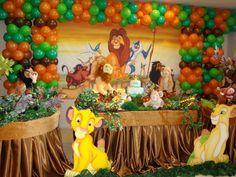 festa o rei leão - Pesquisa Google