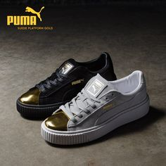 online store 0ce3a 296cd Puma Suede Platform Gold. Emily Wang · Sneakers