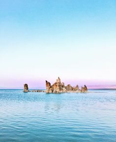 Otherworldy Mono Lake in California's Eastern Sierras - on the other side of Yosemite