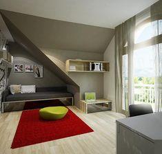 Zdjęcie projektu Heliodor - murowana – beton komórkowy KRD2303 Beautiful House Plans, Beautiful Homes, Micro House, Bookcase, Stairs, Exterior, Shelves, Houses, Ghana