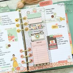 Simple Stories Reset Girl Planner is beautiful!