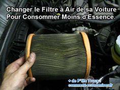 En plus d'augmenter votre consommation d'essence, le filtre à air réduit les performances de votre voiture, mais également sa durée de vie.  Découvrez l'astuce ici : http://www.comment-economiser.fr/consommation-essence-changer-filtre-a-air-voiture.html?utm_content=buffer737f4&utm_medium=social&utm_source=pinterest.com&utm_campaign=buffer