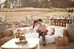 Idées de déco pour un mariage au thème rustique | BricoBistro