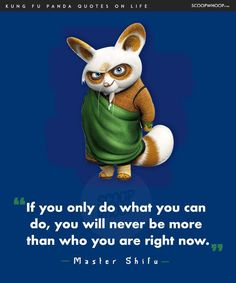 Nice 14 Life Lessons You Learn From The Infinite Wisdom Of Kung Fu Panda Best Quotes Life Lesson Disney Princess Quotes, Disney Movie Quotes, Motivational Movie Quotes, Inspirational Quotes, Music Quotes, Kung Fu Panda Quotes, Wisdom Quotes, Life Quotes, Qoutes