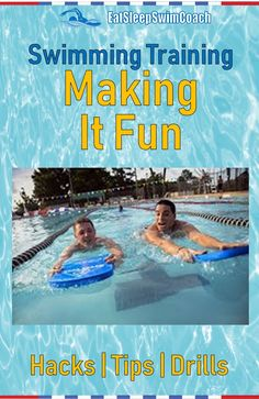 In this article, we'll provide hacks, tips and examples of how to make a swimming training session more fun, while still helping to achieve swimming goals. Swimming Drills, Triathlon Swimming, Competitive Swimming, Swimming Tips, Kids Swimming, Swimming Workouts, Swimming Practice, Swimming Fitness, Cycling Workout