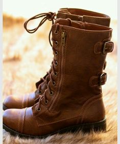09be5178a12 My Style Combat Boot - NanaMacs Boutique