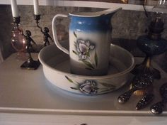 Enamel wear Sugar Bowl, Bowl Set, Iris, Enamel, Fat, Table, Home Decor, Vitreous Enamel, Decoration Home