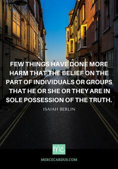 Isaiah Berlin on truth