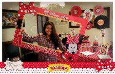 Fiesta Minnie Mouse Coqueta: Marco para selfie