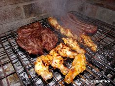 6 visitors have checked in at Braai. Cooking Photos, Pork, Meat, Chicken, Kale Stir Fry, Pork Chops, Cubs