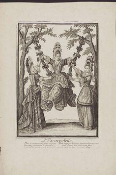 L'Escarpolette, Nicolas Arnoult, French  Late 17th century