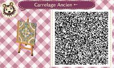 Haru Pastel Carrelage Ancien Tile#2 Left Side Straight <--