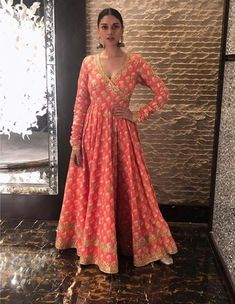 looks stunning in her Tammana Anarkali for promotions Call us on 07931 999111 to order this piece Trajes Anarkali, Anarkali Dress, Bridal Anarkali Suits, Indian Attire, Indian Ethnic Wear, Indian Style, Indian Wedding Outfits, Indian Outfits, Indian Clothes