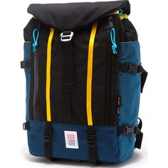 Topo Designs Mountain Pack Backpack Navy/Black | Sportique