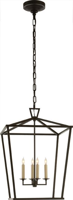 circa lighting DARLANA MEDIUM LANTERN comes in gilded iron  $630.