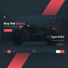Website concept by .⠀ Bike model by .⠀ Want to learn UI Motion and become a better UX/UI Designer? Ui Design Mobile, Design Ios, Best Web Design, Web Design Trends, Homepage Design, Report Design, Layout Design, Web Banner Design, Web Layout