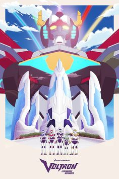 """- Inspired by Voltron: Legendary Defender - Fine Art Giclee Print - Limited Edition of 50 - Approximately 16"""" x 24"""" DreamWorks Voltron Legendary Defender © 2016 DreamWorks Animation LLC. TM World Even"""