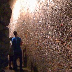 Bubblegum Alley... as nasty as it sounds but you just have to leave your mark there...