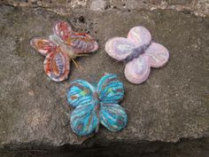Motýl  s tyrkysem