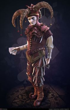 Title: Jester  Name: Raphael Boyon  Country: Canada  Software: 3ds max, mental ray, Photoshop, ZBrush